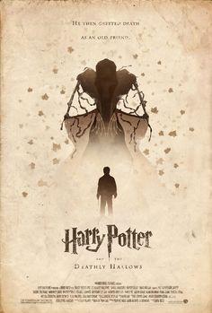 Harry Potter - The Deathly Hallows // A voir et revoir ! On a grandi avec Harry, c'est un de nos vieux amis...