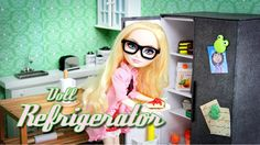 How to Make a Doll Refrigerator