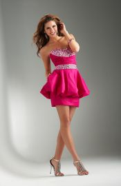 Hawaiian Sleeveless Lace up Sequined A-line Ruched Prom Dress-0