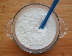 Les Crocs du Loupinet : Crème dessert light à la noix de coco