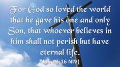 For God Loved... - http://blog.peacebewithu.com/for-god-loved/