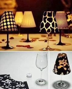 Creare delle mini lampade per la tavola usando solo un bicchiere, delle candeline e del cartoncino ? Certo che si, grazie a questo tutorial : Cliccate sul link qui sopra e scaricate GRATIS la forma…