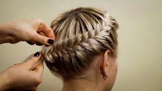"""fishtale starburst braid """"hairstyles of braids"""""""