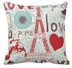 #Zazzle                   #love                     #Sketchy #Love #Paris. #Pillows                     Sketchy Love in Paris. Pillows                                                http://www.seapai.com/product.aspx?PID=1147353