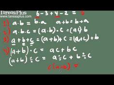 Propiedades básicas suma, resta, multiplicación y división