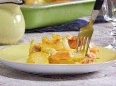 Schwedischer Kartoffel-Lachs-Auflauf- so geht's | LECKER