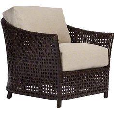 McGuire Furniture: Antalya™ Lounge Chair: No. LA-10