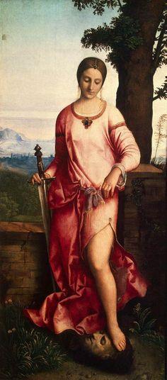 Giuditta con la testa di Oloferne, Giorgione, 1504 - Ermitage, San Pietroburgo