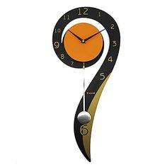 現代アートなモダン キャンバスアート 壁 壁掛け 時計  壁時計 ファッション 音符 おたまじゃくし【納期】お取り寄せ2~3週間前後で発送予定【送料無料】ポイント【楽天市場】
