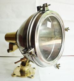 Japaneses  brass & steel sport light