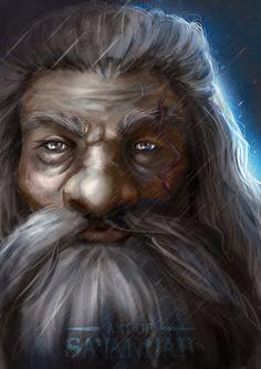 Dungeons and Dragons Portrait - Dwarf Cleric by ArtofSavannah