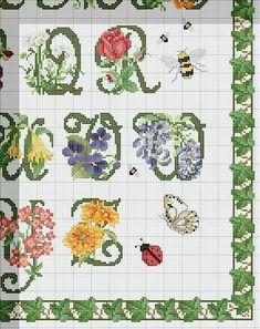 Schema punto croce Alfabeto-floreale-4