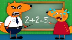 FOX FAMILY Stupid in the Class Funny Story New Episodes! Finger Family S...
