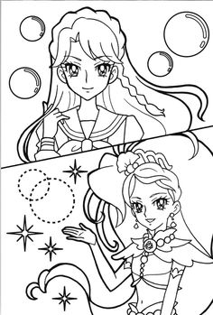 princess precure   minami=cure mermaid