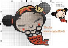 Schema punto croce Pucca sirena 50x45 5 colori.jpg