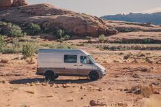 DIY Sprinter Camper Van In The Desert Near Moab Photo Amanda Summerlin