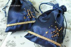 12星座の選べる巾着