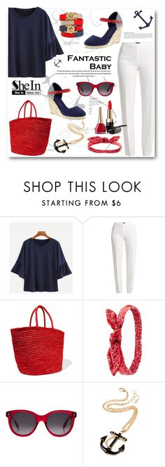 """""""shein"""" by biljana-miric-ex-tomic ❤ liked on Polyvore featuring Pierre Dumas, Basler, Sensi Studio, Charlotte Russe, Alexander McQueen, Amrita Singh, Marc by Marc Jacobs and Anja"""
