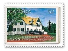 Anne Of Green Gables / Canada postage stamp