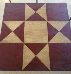 Barn Quilt...Primitive...Custom sizes and by PrimitivelyAntique, $59.00