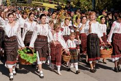 National Wine Day (Moldova) ··· photo by Prospect – 2020 World Travel Populler Travel Country Beaches Turks, Lace Skirt, Sequin Skirt, Carnival Festival, Moldova, The Republic, Lake District, People Around The World, Fashion History