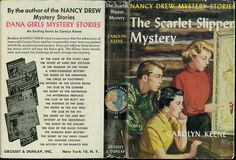 I loved my Nancy Drew books.  Still have the entire dust-jacketed set!
