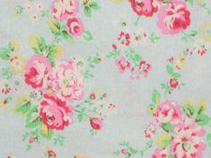 Shabby Vintage Antique Aqua Pastel Blue Princess Pink Floral Flower Rose Chic | eBay
