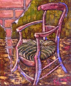 """Lalo Relinque: """"La silla vacía de Gauguín"""" - 2010 - Colección Pasa la Vida."""