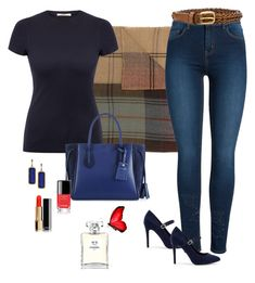 Just for Me by carolannstyle on Polyvore featuring J Brand, Pieces, New Look, Longchamp, Armenta, Polo Ralph Lauren, Gucci and Chanel