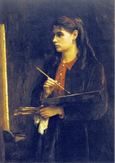 Portrait of the Artist's Sister Painting - Berthe Morisot