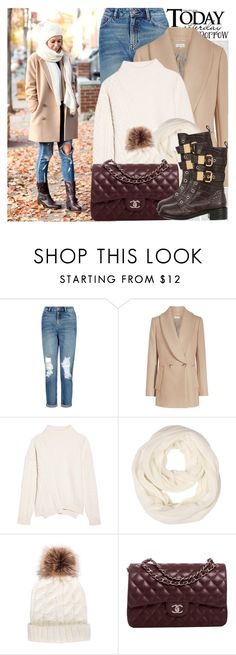 """""""2488. Blogger Style: Brooklyn Blonde"""" by chocolatepumma ❤ liked on Polyvore featuring Oris, New Look, Jil Sander, Chanel, Giuseppe Zanotti, BloggerStyle and brooklynblonde"""