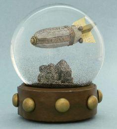 Apocalyptic Snow Globes : unique snow globes
