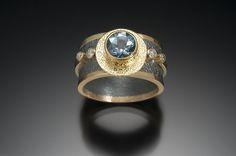 beth_solomon_alchemy925_handmade_jewelry_ring, stunning aquamarine engagement ring