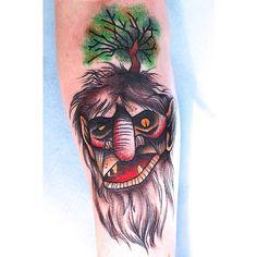 #norwegian #troll #tattoo @invictustattoonorway