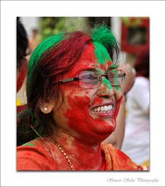 Photo from Holi festival in India