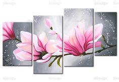 Tableau Fleur de magnolia