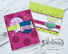 Shannon Lane - Stampin' Up Independent Demonstrator in Calgary, Alberta