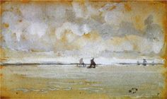 Grey Note - Mouth of the Thames - James McNeill Whistler