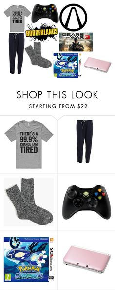 """""""lazy gaming day"""" by candysmash6252 on Polyvore featuring Golden Goose, J.Crew, Microsoft, Edition, Nuevo and Nintendo"""