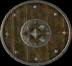 Targe of the Blooded  BASE ARMOR:20Weight:8BASE VALUE:300Additional Effects: When bashing, does 3 points of bleeding damage for 5 seconds Class:Heavy Armor,Shield Upgrade Material:Steel Ingot PERK:Arcane Blacksmith