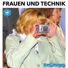 Frauen und Technik - Fotoapparat Fail, Blondinen Witze