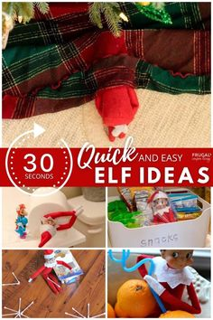 As a busy, exhausted mom, you can still have amazing ideas for your Elf doll and use quick and easy elf ideas that don't bring more holiday stress. Enjoy these Quick & Easy Elf on the Shelf Ideas the entire season long and still get two thumbs up from the kids! New quick Elf on the Shelf ideas daily plus free Elf on the Shelf printables. 30 seconds and done! #FrugalCouponLiving #ElfontheShelf #ElfontheShelfIdeas #elfprintables #freeelfprintables #printables #ElfonaShelf #ScoutElfIdeas Holiday Stress, Elf Doll, An Elf, Shelf Ideas, Amazing Ideas, 30 Seconds, Exhausted, Candy Cane, Elf On The Shelf