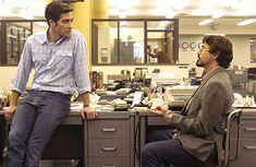 Robert Downey Jr. & Jake Gyllenhaal in the 2007 movie that no one saw, Zodiac.