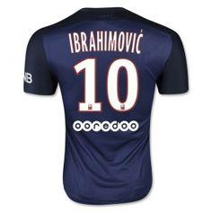 ade4722adf63 15-16 Paris Saint-Germain Cheap Home Ibrahimovic  10 Replica Jersey 15-16  Paris Saint-Germain Cheap Home Ibrahimovic  10 Soccer jerseys
