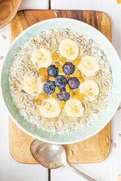 Dieta détox para adelgazar 5 kilos (con menús diarios y recetas) Health Magazine, Acai Bowl, Oatmeal, Lose Weight, Alcohol, Nutrition, Healthy Recipes, Breakfast, Food
