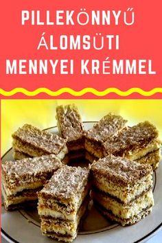 Hungarian Desserts, Hungarian Recipes, Walnut Torte Recipe, Poppy Cake, Cake Recipes, Dessert Recipes, Homemade Crackers, Good Food, Yummy Food