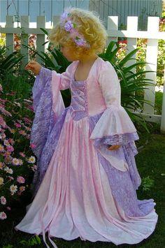 Girls Gwendolyn Fantasy Fairy Medieval or by RomanticThreads, $245.00