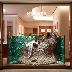 """SHINSEGAE DEPARTMENT STORE, Seoul, South-Korea, """"All creatures great and small"""", pinned by Ton van der Veer"""