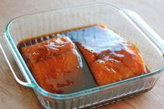 Teriyaki Salmon with Sriracha Cream Sauce | Damn Delicious