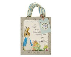 Peter Rabbit Party Favor Bags  Gift Packaging Paper Party